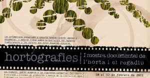 Hortografies: I Mostra Documental de l'horta i el regadiu