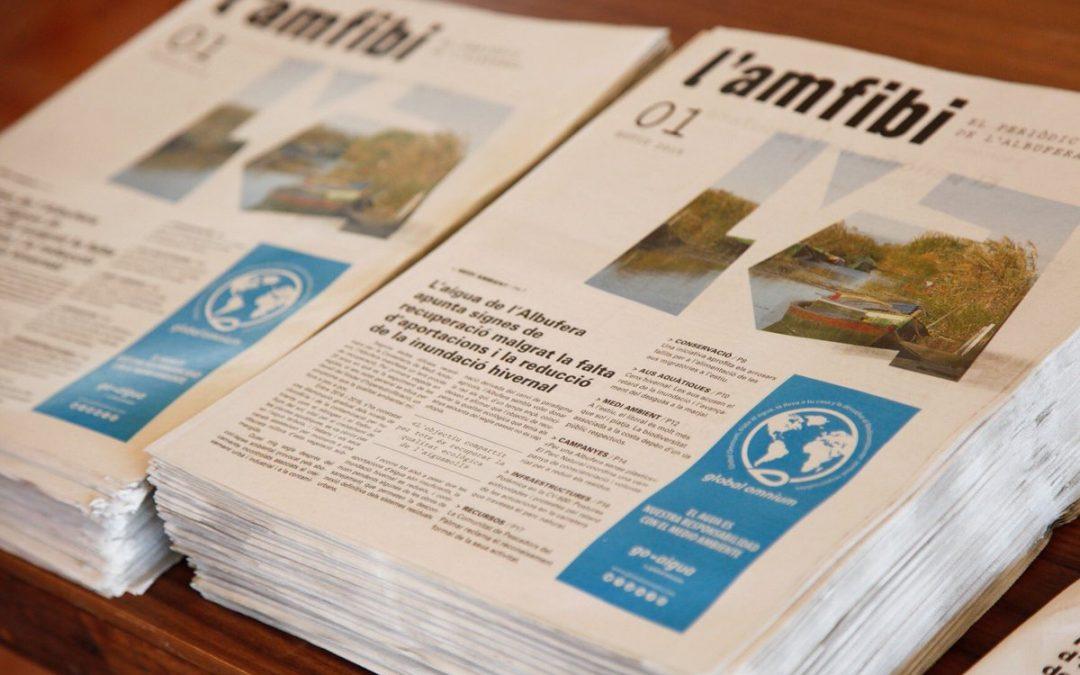 Presentamos «L'Amfibi», el periódico de L'Albufera