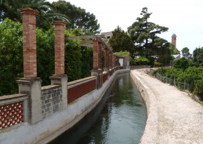 Millora del regadiu històric a l'horta de Godella