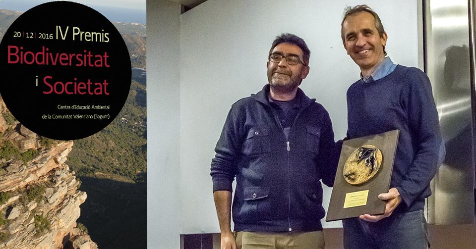La Fundació Assut, premio 'Biodiversidad y Sociedad' de la Generalitat Valenciana