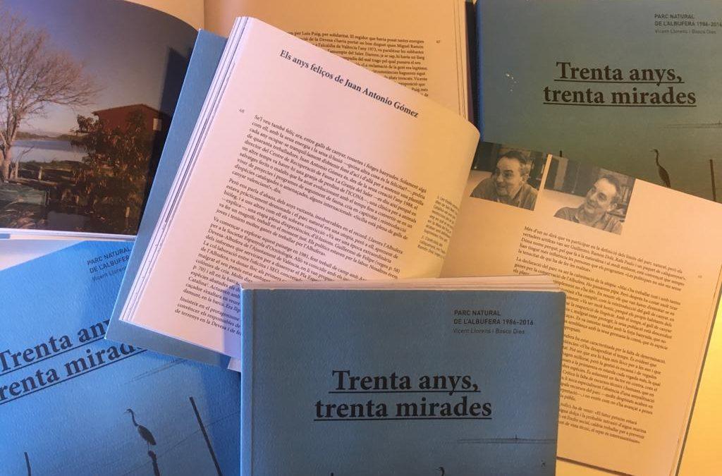 Llibre: Parc Natural de l'Albufera (1986-2016)